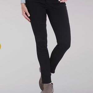 Lee Rider Women's Skinny Jeans Black 14Long